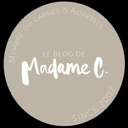 membre du carnet adresse blog madame c