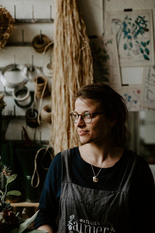 Portrait de Marie Saulnier