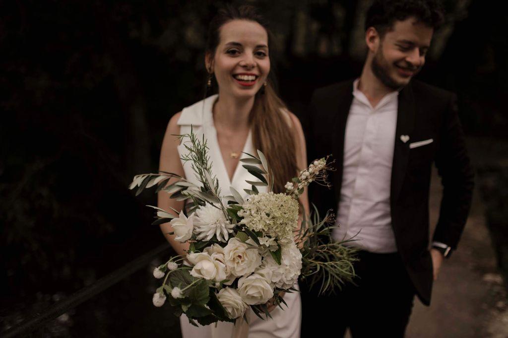 bouquet mariee blanc naturel sauvage poétique