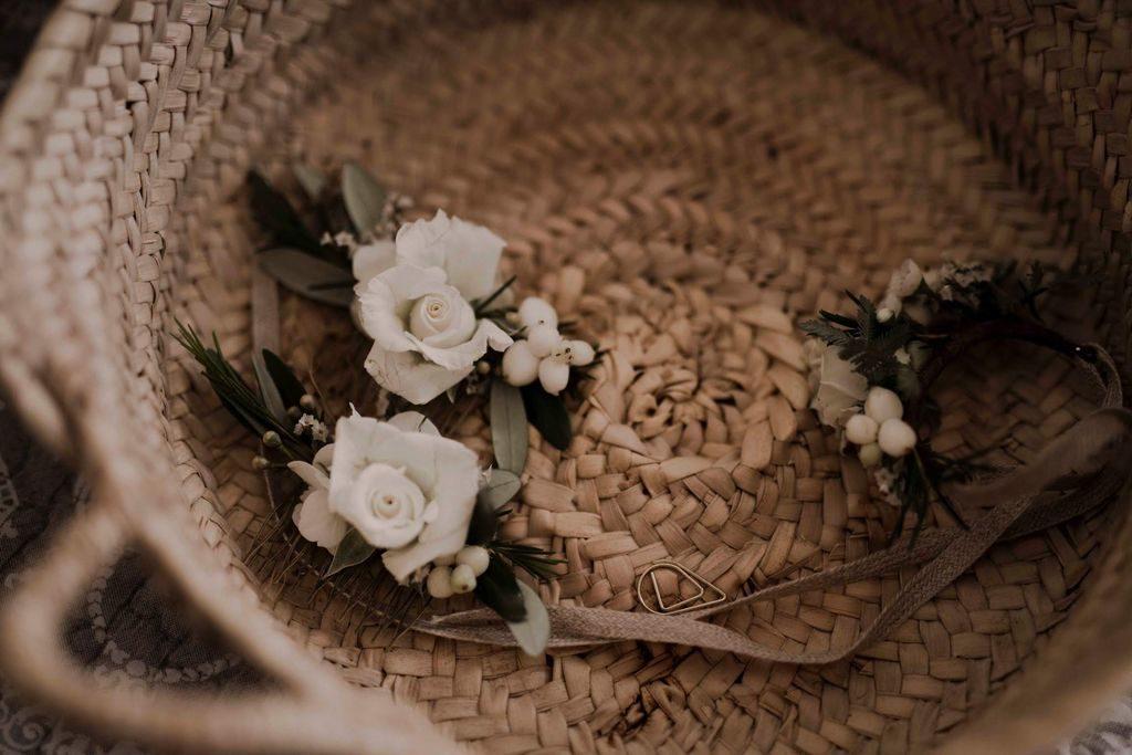accessoire fleur mariage
