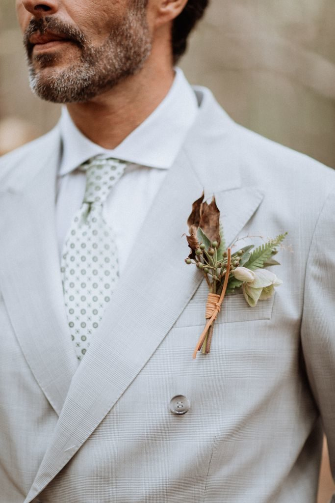 boutonniere marie sauvage vegetal