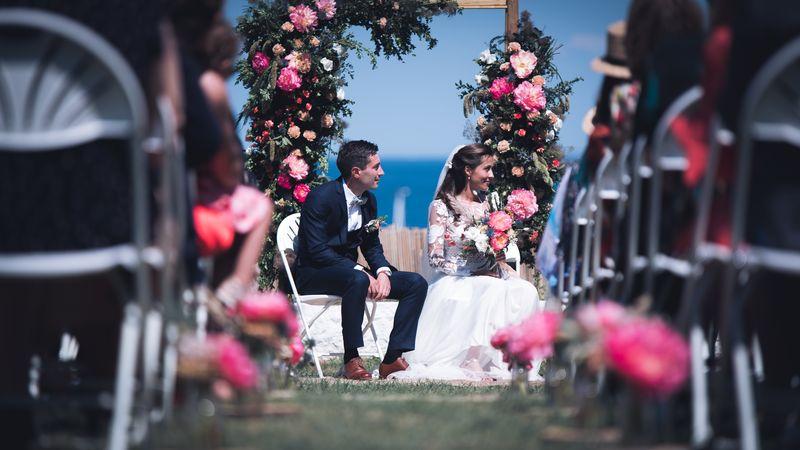 mariage mer belle ile arche cérémonie laïque