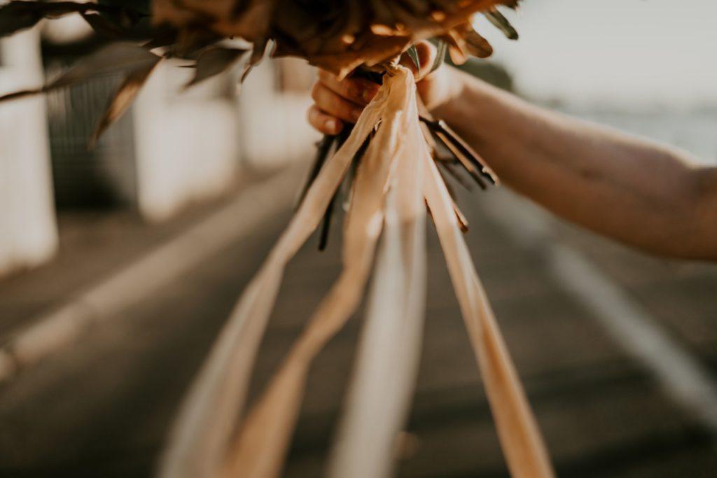 inspiration mariage terracotta flamenco fleurs séchées palmier