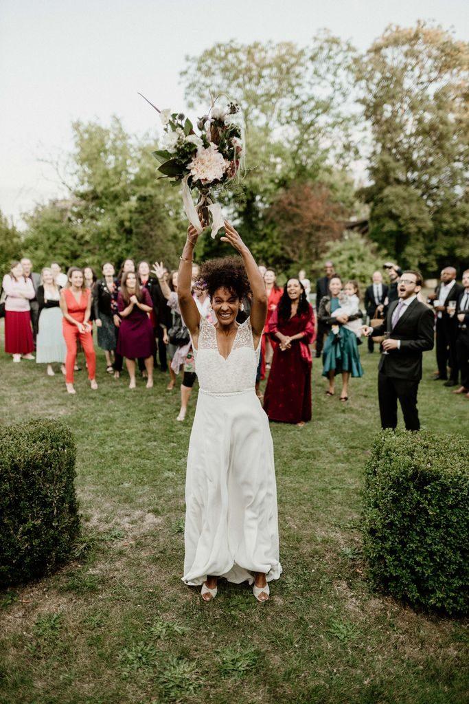 mariage romantique bohème giverny