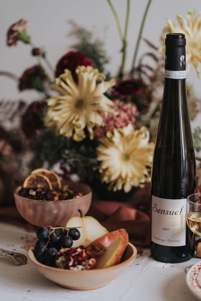 Fleurs Vin Fromage