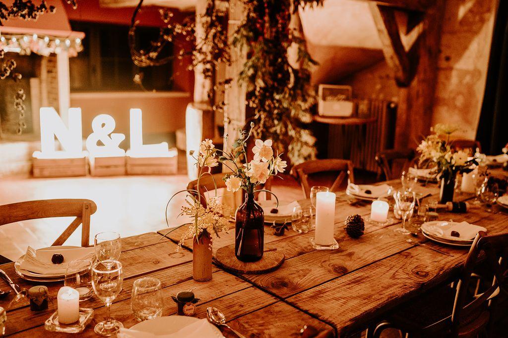 mariage hiver mimosa fleur
