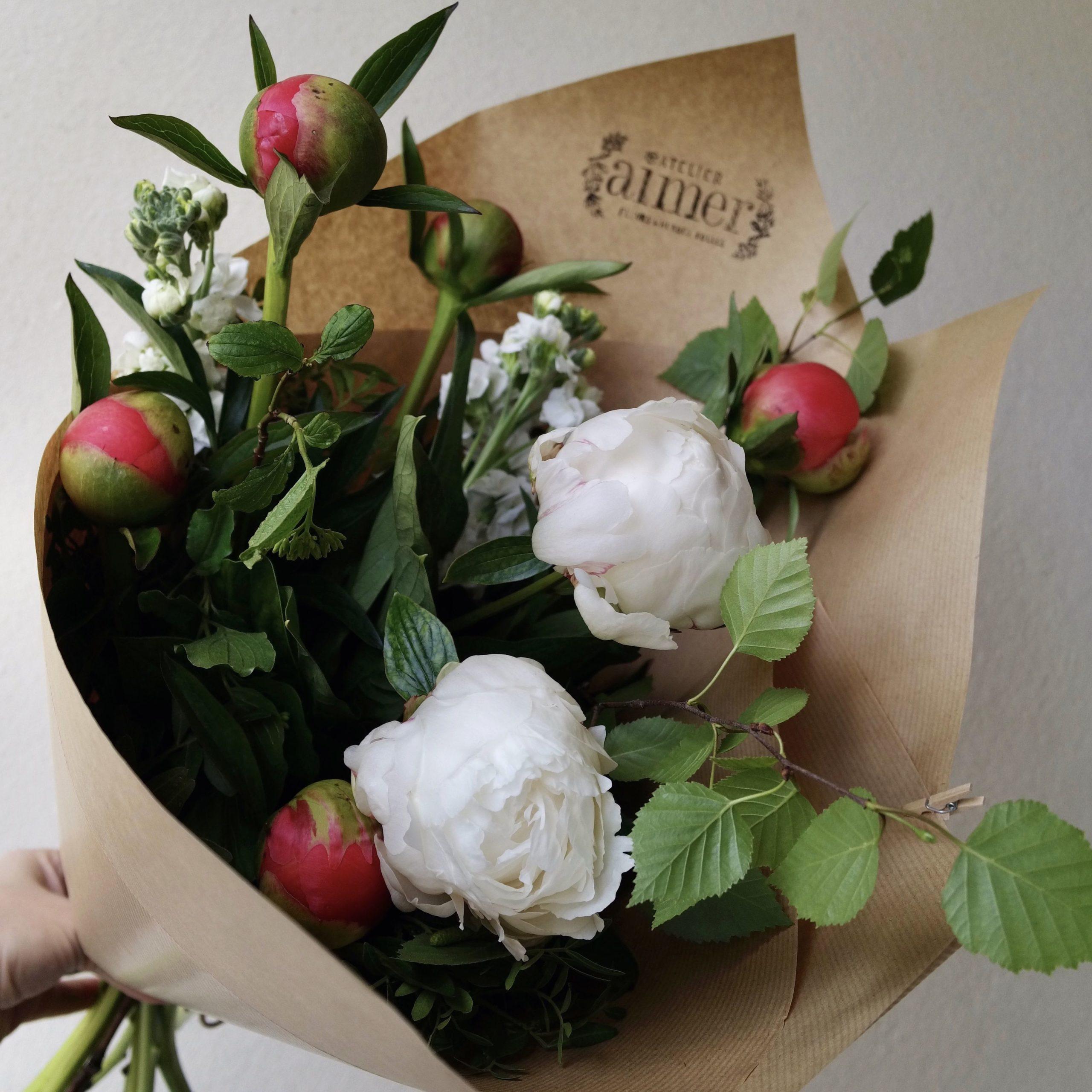 abonnement floral bouquet fleurs Nantes
