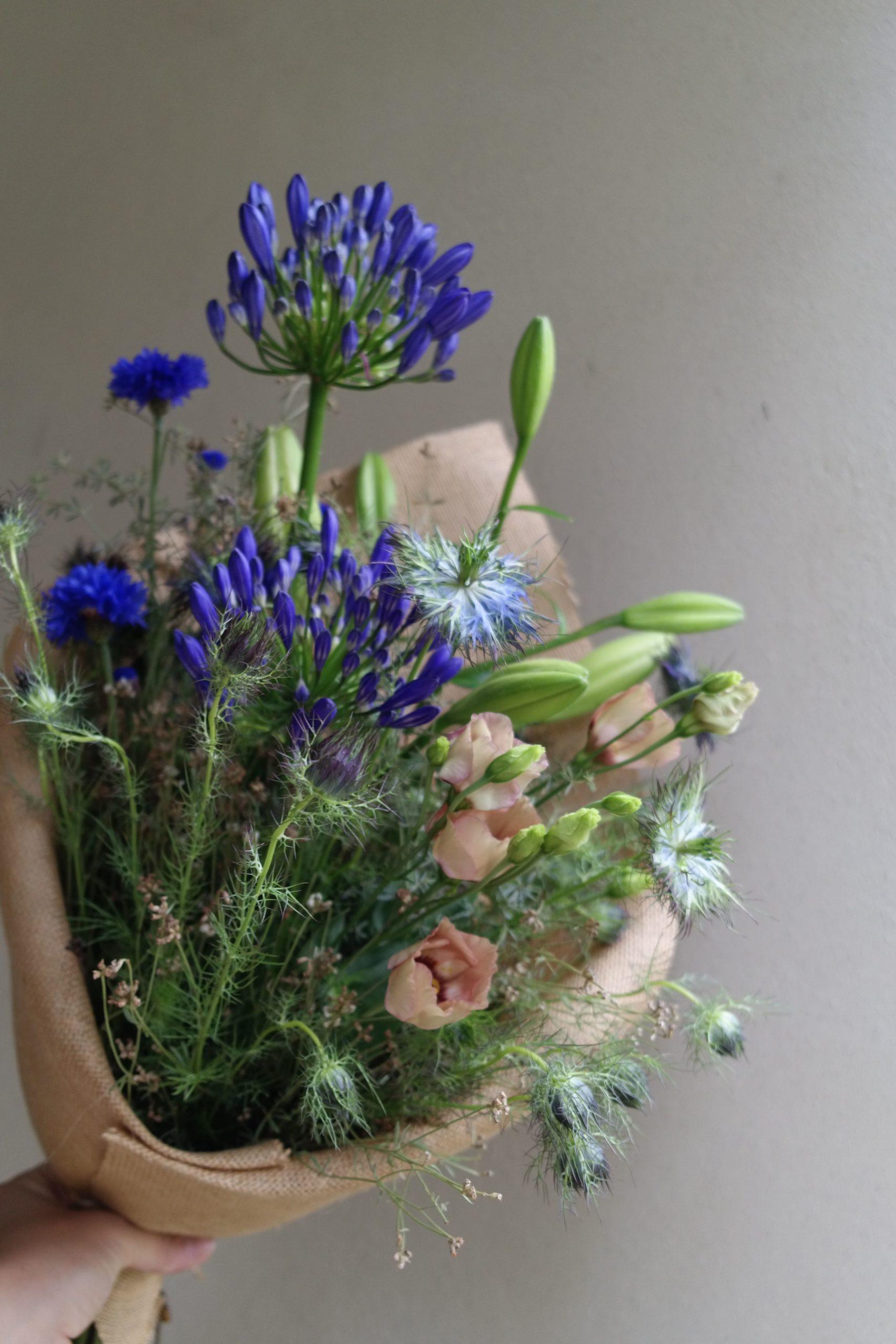 bouquet fleurs francaises