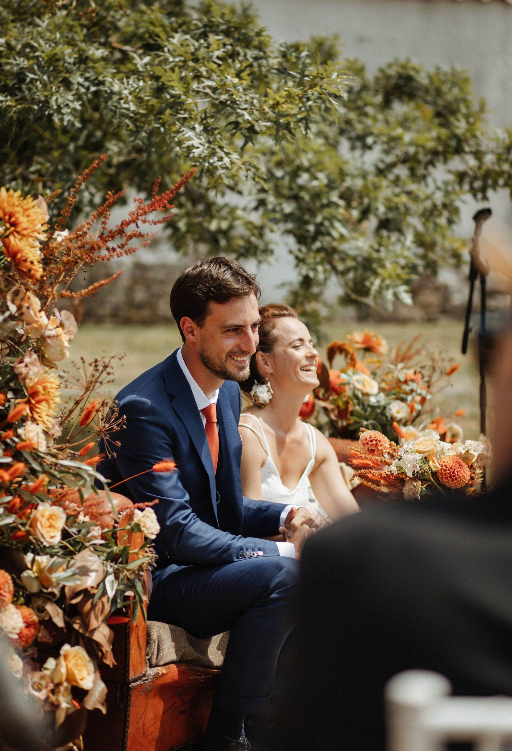 mariage terracotta bohème Vendée