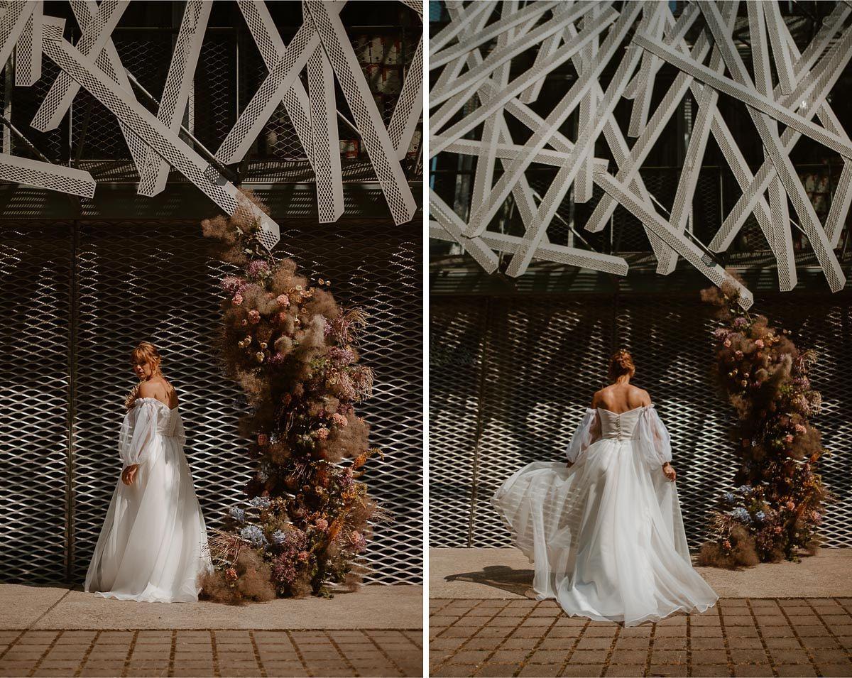 fleuriste nantes mariage urbain colore