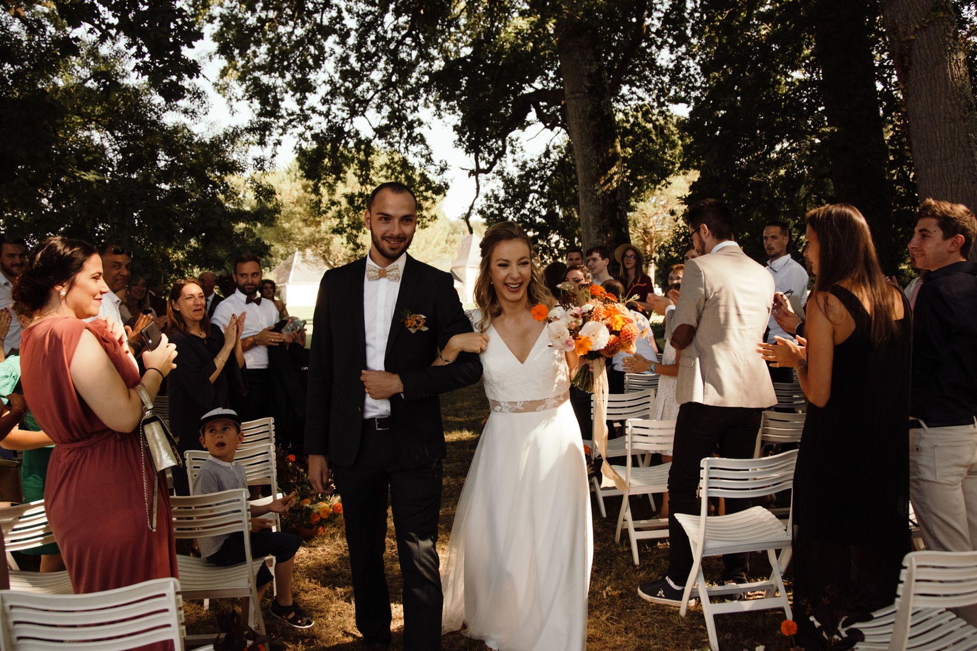 mariage terracotta orange